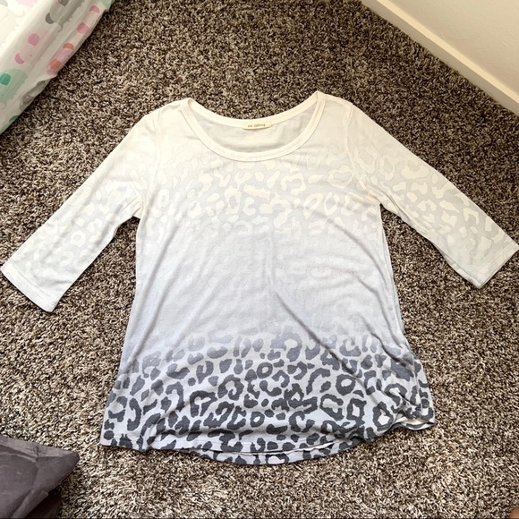 Enti Tops - Boutique Brand Ombre Leopard print blouse